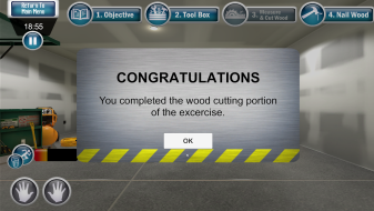 Congrats - Completed Wood Cutting