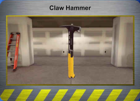 Tools - Claw Hammer